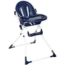 TecTake Chaise haute de bébé pour enfants grand confort - diverses couleurs au choix -