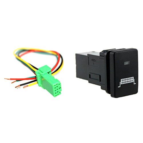 IPOTCH Auto KFZ Schalter für Nebelscheinwerfer Scheinwerfer Wippschalter Ein-/Ausschalter - Lichtleiste Muster
