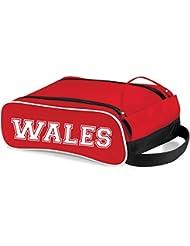 Pays de Galles de coffre Sac cadeau idéal Sac à chaussures pour football, rugby, course à pied