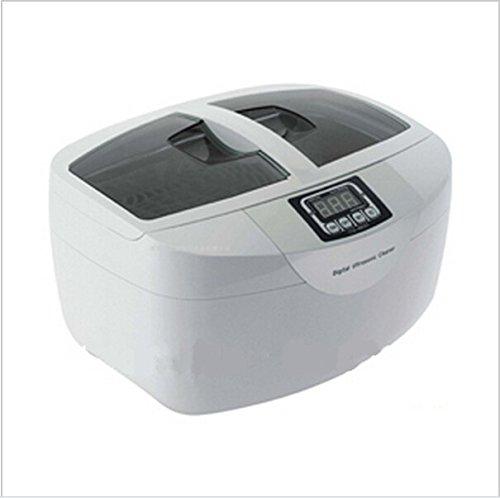 Digital Kunststoff GOWE 2.5L Ultraschallreiniger Ultraschallbad mit LCD Display und Einstellung Temperatuer