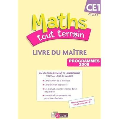 Maths Tout Terrain Ce1 Livre Du Maitre Pdf Epub