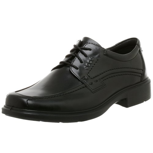 ECCO Men's Berlin Apron Toe Oxford,Black,42 EU (US Men's 8-8.5 M) -
