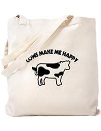 CafePress - Bolsa para vacas, diseño con texto en inglés