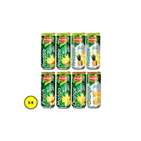 Del Monte Assorted Canned Juices , 240 ml - (Pack of 8)