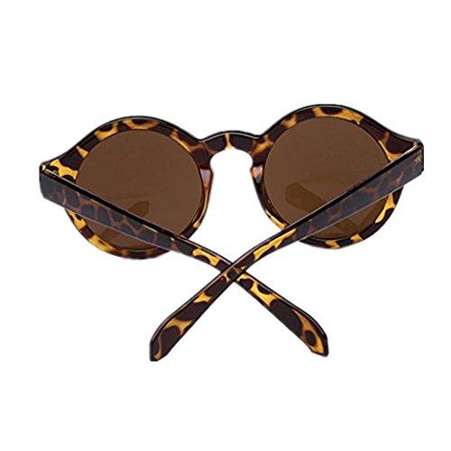 Occhiali da sole da donna uomo polarizzati -beautyjourney occhiali da sole cat eye donna rotondi vintage -donne uomini occhiali unisex moda specchio occhiali da sole rotondi (a)