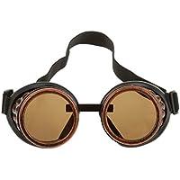 Gafas Lente Lens contra Viento Proteccion para Fotografía Cosplay Fotos Vintage Steampunk Varios Colores - Color Cobre