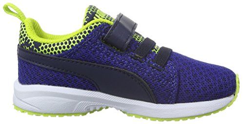 Puma - Carson Nightc V, Scarpe sportive outdoor Unisex – Bambini Blu (Bleu (Mazarine Blue/Peacoat))