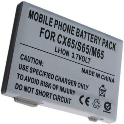 Handy Li-Ion Akku für Siemens A31, A58, C65, CX65, C72, C75, M65, M75, M81, S65, S75, BenQ-Sie C81