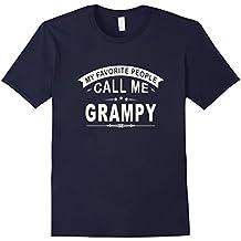 My Favorite People Call Me Grampy Grandfather Men T-Shirt
