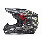 Off Road Motorradhelm Erwachsener Motocross Helm ATV Dirt Bike Downhill MTB Racing Helm Cross Helm