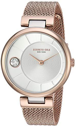 Kenneth Cole KC50786002 - Reloj de Pulsera para Mujer, diseño clásico, Color Oro Rosa