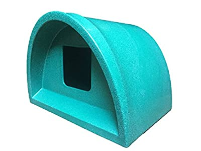 Cosy Cages Ltd Plastic Outdoor Cat kennel Shelter green sq