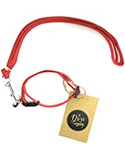 The Pets Company Leash and Collar Set Suitable for Puppies of All Dog Breeds, X Small, Red