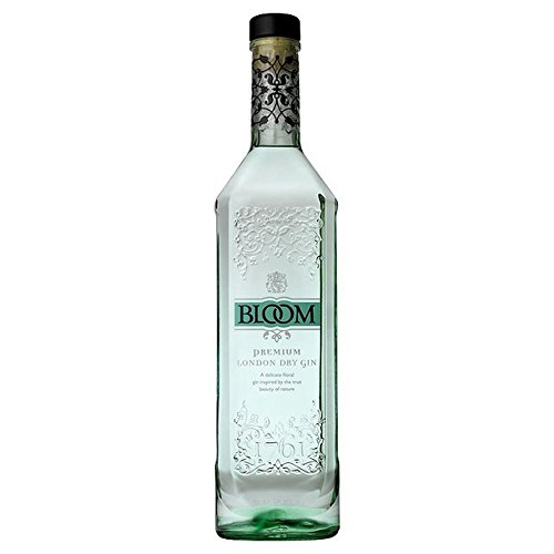 Bloom Premium-London Dry Gin 70 cl - (Packung mit 2)