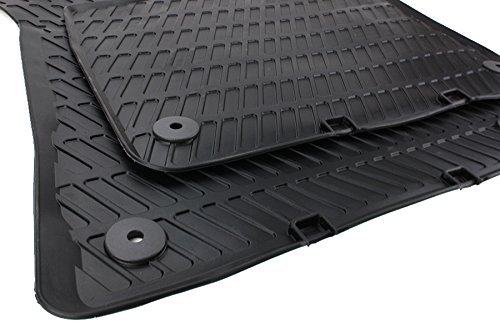 Novità. Tappetini in gomma originali per Audi A3S3RS38P/Sportback/Cabriolet tappetini gomma linea S, 2pezzi, anteriori, nero