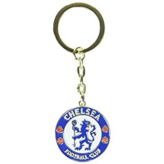 Chelsea Unisex Crest Schlüsselanhänger, Mehrfarbig