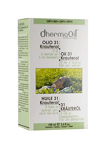 Olio Per Il Corpo Defatigante Tonificante Rigenerante Dhermaoil Olio 31 Krauterol 100 Ml