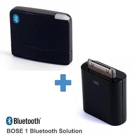 LAYEN - Récepteur audio Bluetooth BS-2 série 1 Faites passez votre ancienne station d'accueil à la technologie Bluetooth ! Le BS-2 est une solution 2 en 1 pour diffusez de la musique sans fil et charger votre lecteur MP3/smartphone lorsqu'il est placé sur la station