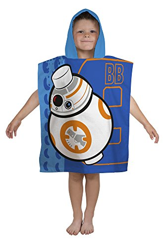 LEGO Star Wars Kinder Poncho Handtuch, Bunten, 115x ()