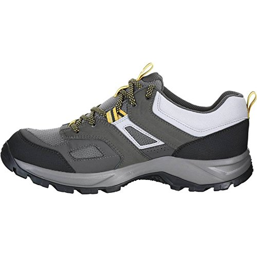 33% OFF on Quechua MH 100 Watetproof Men s Hiking Shoes - Grey Yellow on  Amazon  59e1befc6cf5