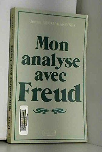 Mon analyse avec Freud