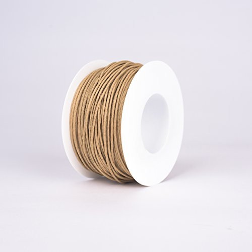 Papierkordel / Papierdraht Natur 2mm 100m