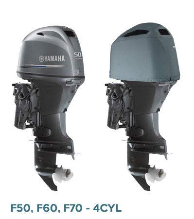 Oceansouth Outboard Motor Couvercle ventilé pour Yamaha (50-70HP (4CYL))