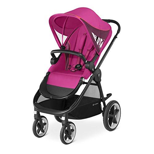 Imagen para Cybex Gold - Cochecito Balios M, con cómoda silla reversible y barra apoyabrazos, desde los 6 meses hasta 17 kg (aprox. 4 años), Passion Pink