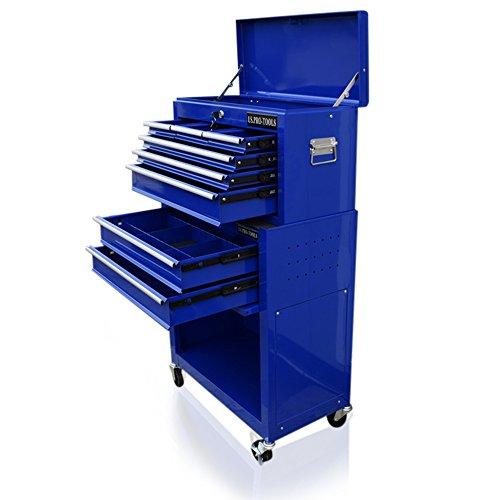 US PRO TOOLS blau Günstigen Tool Chest Werkzeug Gratis Schubladen-Teiler Cabinet