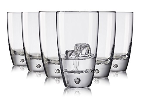 Pasabahce Miami Waterglasses/523 ml/Set of 6/High-Quality Glasses/Dishwasher Safe/Crystal Glasses