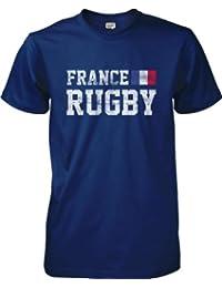 wantAtshirt - France Rugby T-shirt Flag - S to 2XL