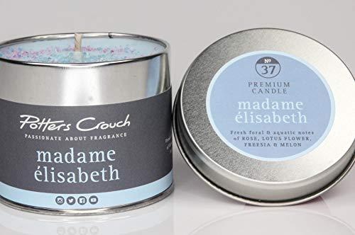 Potter Entre Jambes Madame Elizabeth Bougie parfumée dans boîte en métal