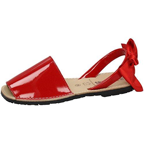 MADE IN SPAIN , sandales femme Rouge