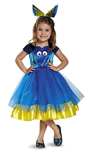 Finding Dory Disney's Dory Toddler Tutu Deluxe Costume Small 2T