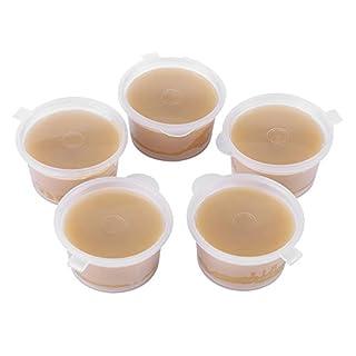 WALFRONT 5pcs 20g Cire d'abeille Naturelle Organique, Cire d'abeillede catégorie Comestible pour la Bougie/Savon / Rouge à lèvres