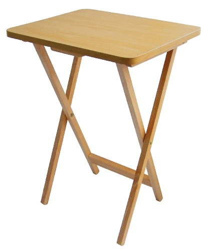 premier-housewares-folding-snack-table-natural-wood
