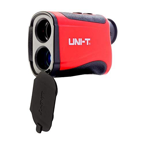 UNI-T LM600 telemetro laser digitale, misuratore di distanza laser con batteria al litio ricaricabile integrata e porta di ricarica micro-USB che misura fino a 599,8 m per golf, caccia, Surveying
