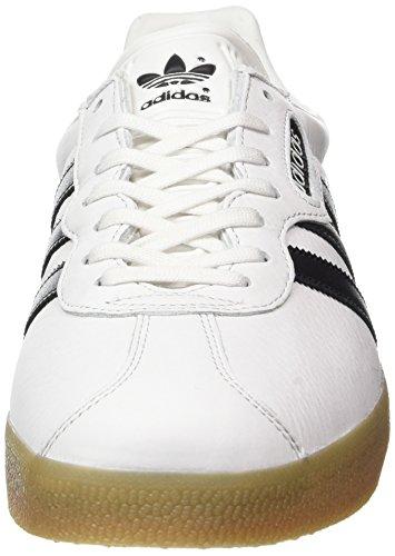 4bb84b2d3406c0 adidas Herren Gazelle Super Sneaker Weiß (Vintage White Core Black Gum)