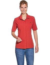 Tatonka Jonne SS-Shirt Women granat red 2017 Kurzarmshirt