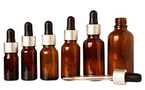 10 ml boston de bouteilles de verre ambré ronde de gros bouteilles de gouttes d'huiles essentielles rechargeables vide pipette compte-gouttes bouteilles de sérum beaucoup de 100