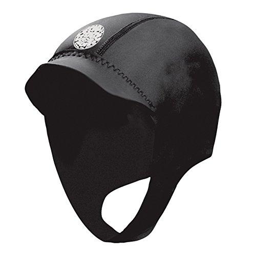 RIP CURL Dawn Patrol 2mm Surf Cap Hat Hood - Unisex - Freiheit, Wärme und Flexibilität - Flatlock-Nähte
