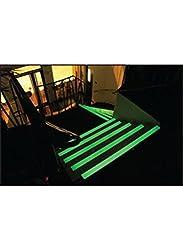 Caledonia Signs 59853 Anti-Slip Stair nosing, Photo luminescent, 70 mm x 30 mm x 1000 mm