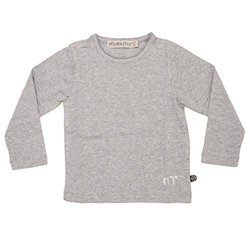 Minymo Basic 80 -T-Shirt LS -Solid - T-Shirt - T-Shirt - Manches Longues - Fille Minymo