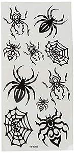 Black Temporary Tattoos IN0209 (tatuajes temporales)