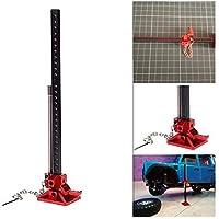 Ballylelly Durable RC Rock Crawler deslizable Metal Jack Tool para Axial SCX10 Tamiya CC01 RC4WD D90 D110 TF2 1:10 Accesorios