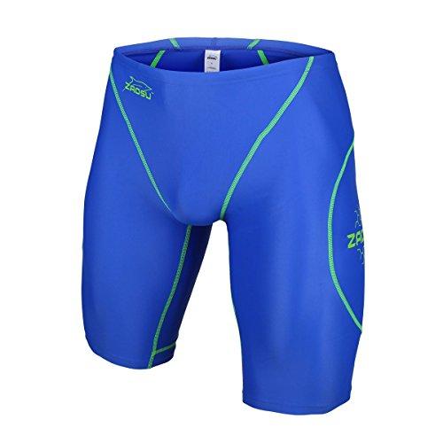 ZAOSU Wettkampf-Schwimmhose Z-Blue - Jammer für Jungen und Herren, Größe:7