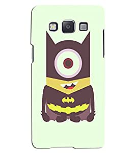 Citydreamz One Eye Minion\Cartoon Hard Polycarbonate Designer Back Case Cover For Samsung Galaxy Core 2 G355H