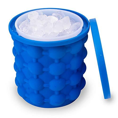 Kulino - Perfekte Eiswürfelform mit Deckel zur Kühlung von Essen und Getränken