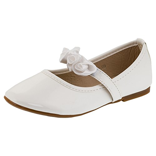 Fest Lich bella ragazza scarpe in 3colori, (#147ws Weiss), 29