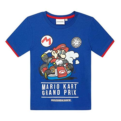 Boys Mario Kart Grand Prix Ringer T-shirt